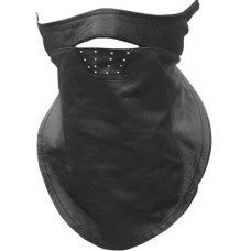 Motorcycle Leather Face Mask