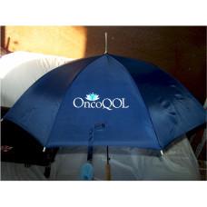 Promotional Custom Print Navy Blue Umbrella