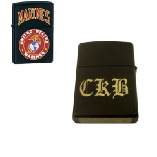 Personalized Marines Zippo Lighter