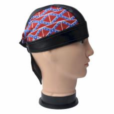 Confederate Flag Skull Cap