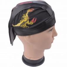 Bio-Hazard Scorpion Skull Cap