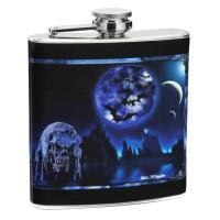 6oz Custom Print Personalized Flask
