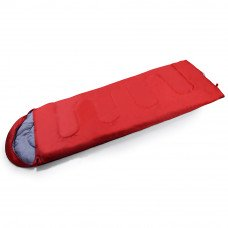 Sleeping Bag Available in Red, Blue, Green, Grey, Orange or Rose