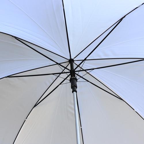 white rain umbrellas in bulk for golf or weddings solid or plain