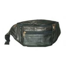 Leather Multi-Pocket Travel Bag