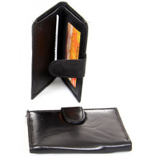 Euro Design Slim Leather Bi-Fold