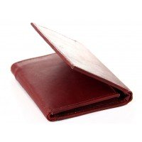Men's Leather Tri-Fold Wallet