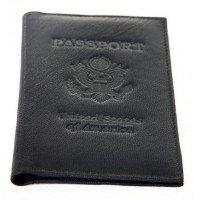 World Traveler - Leather Passport Holder