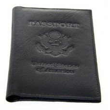 World Traveler - Leather Passport Holder