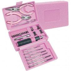 26pc Pink Tool Set