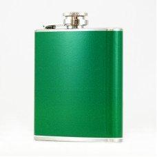 6oz Green Flasks for Men