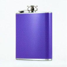 6oz Purple Stainless Steel Flasks