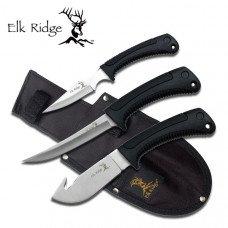 3 Piece Hunting Knife Set