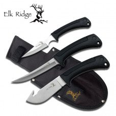3 Piece Hunting Knife Set