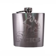 6oz Custom Engraved Flask