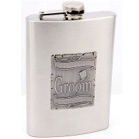 Wedding Flask for Groom