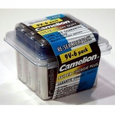 9 Volt Batteries, 6 Pack