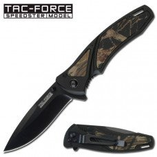 Action Assisted Folding Camo Pocket Knife
