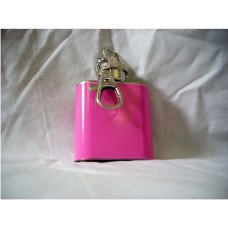 Pink 1oz Key Chain Flask