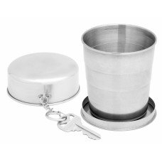 240ml (About 8oz) Extra Large Stainless Steel Collapsible Cup