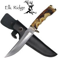 Elk Ridge™ Simulated Deer Antler Hunting Knife