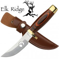 Brass Accented Skinning Knife