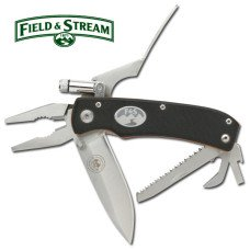 Field and Stream Multipurpose Tool with LED Flashlight