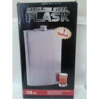 128oz Ultra Jumbo 1 Gallon Flask with Optional Laser Engraving