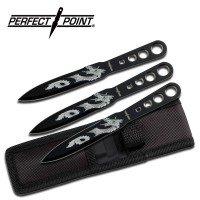 3pc Throwing Knife Set
