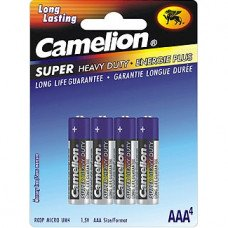 AAA Super Heavy Duty Batteries, 4 Pack