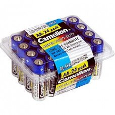 AA Super Heavy Duty Batteries, 24 Pack