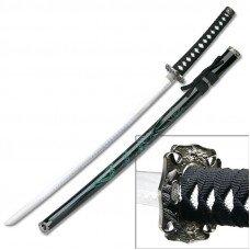 Bushido Green Dragon Samurai Katana