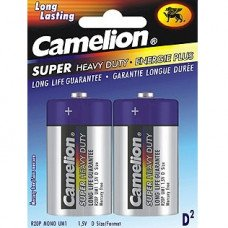 D Super Heavy Duty Batteries, 2 Pack