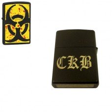 Biohazard Personalized Zippo Lighter