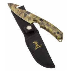 Personalized Laser Engraved Camo Fixed Blade Knife