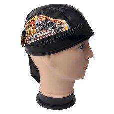 Blazing Semi Truckers Skull Cap