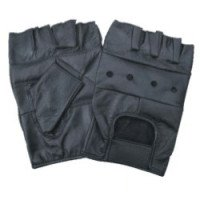 Leather Half Gloves