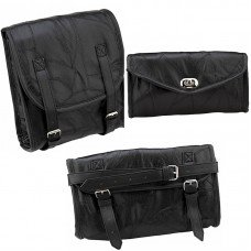 3pc Motorcycle Luggage Set