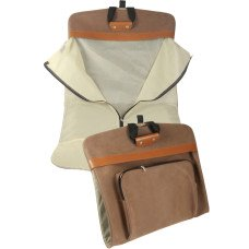 Faux Suede Garment Bag