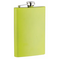 Yellow Painted 8oz Flask