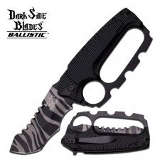 Dark Side Blades - with Etched Skull Graphic