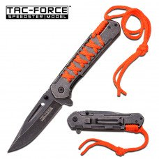 TAC-FORCE - Orange  Spring Assisted Knife