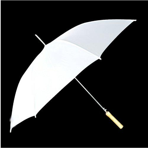 a89e65a8c White Rain Umbrellas in Bulk for Golf or Weddings - Solid or Plain ...
