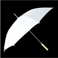 "60"" White Wedding Umbrellas"