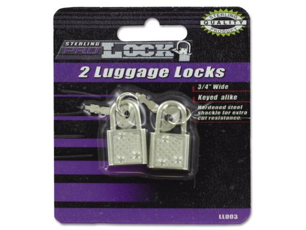 LUGGAGE Locks with Keys