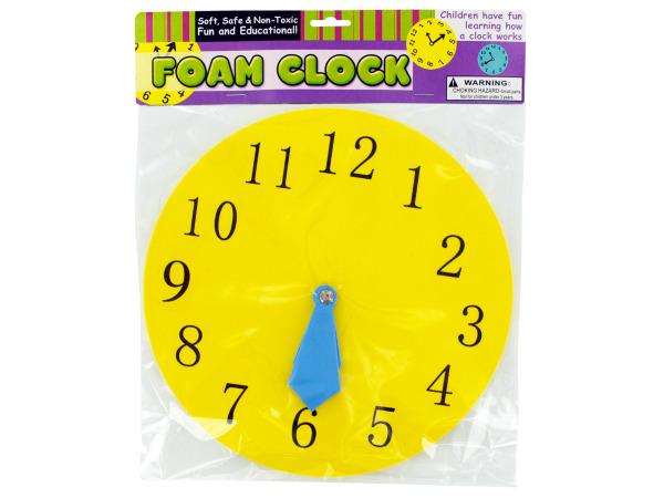 Educational Foam CLOCK