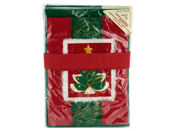 Handmade HOLIDAY Card Set with Envelopes