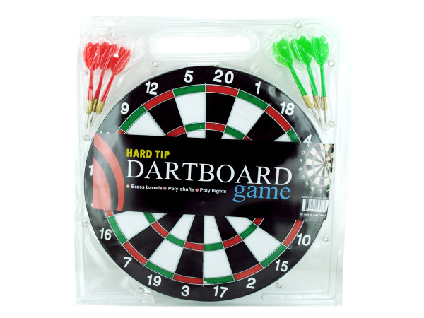 DARTBOARD Game with Hard Tip Darts