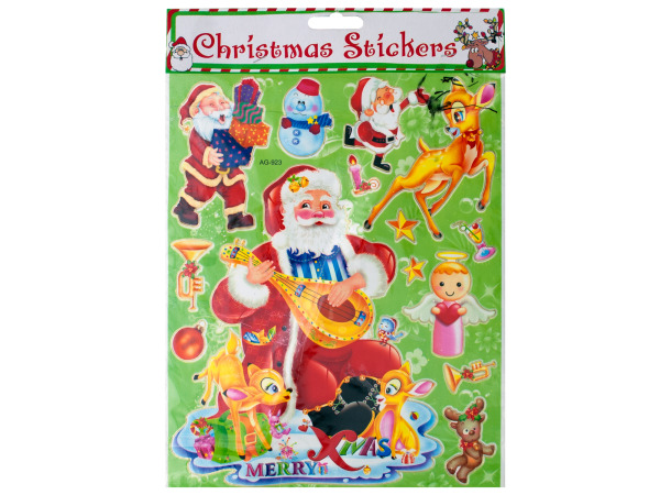 Santa Christmas STICKERS