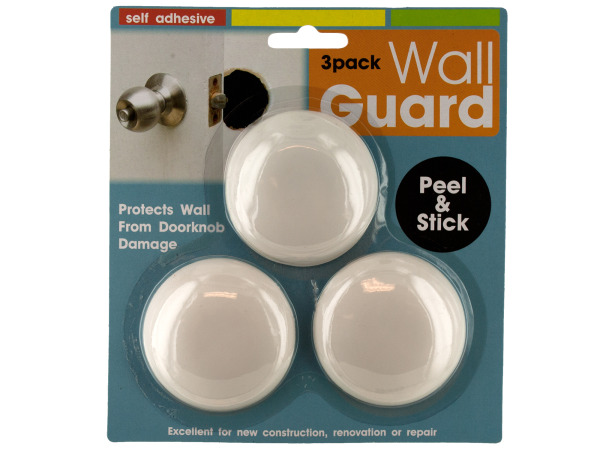 Self-Adhesive DOORKNOB Wall Guard Set